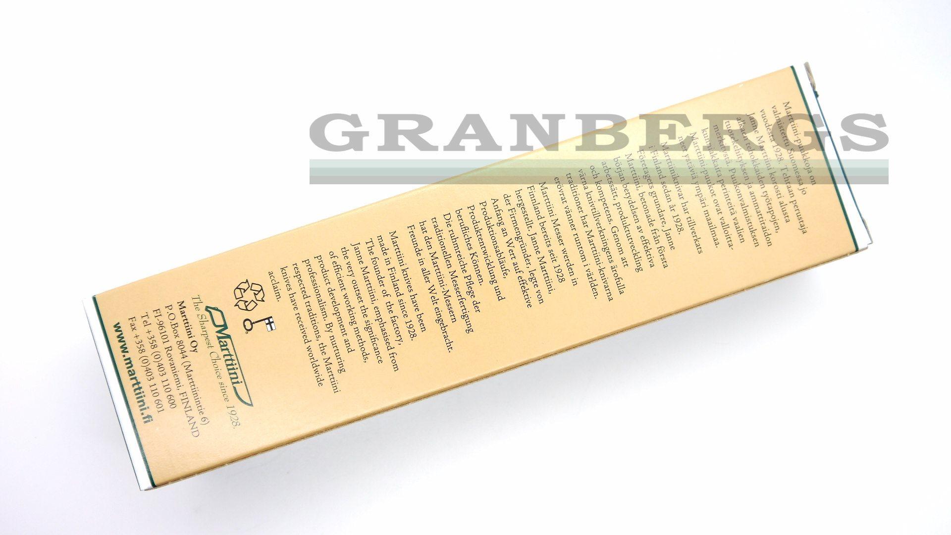 Granbergs - Marttiini 121010 Ilvespuukko Lynx 121 Knife