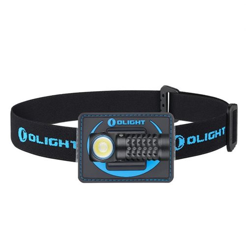 Olight Perun Mini Black + Headband Bundle