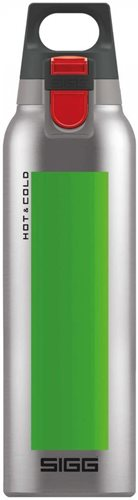 Sigg Hot and Cold One Accent Thermo Bottle, Green, 500 ml Capacity