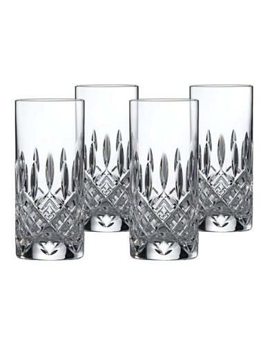 Royal Doulton Nouveau Crystal Highball Set of 4