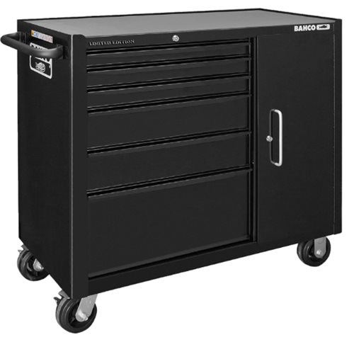 Bahco XXL Premium 196-Piece 6-Drawer & Cabinet Tool Trolley