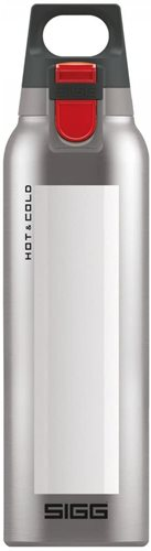 Sigg Hot and Cold One Accent Thermo Bottle, White, 500 ml Capacity