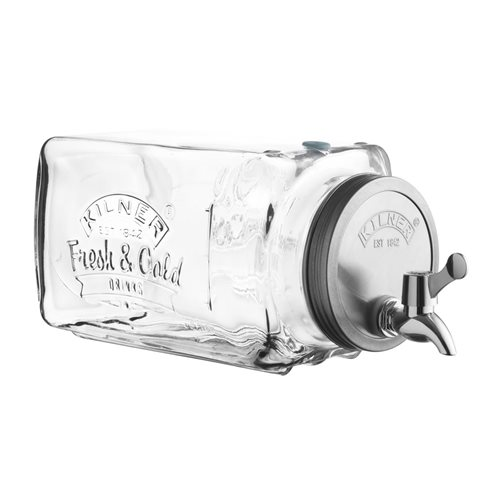 Kilner Fridge Drinks Dispenser 3 Litre