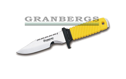 Mercury Coltello Sub Diving Knife Yellow Handle