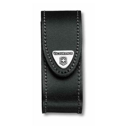 Victorinox 05690 Black Leather Pouch