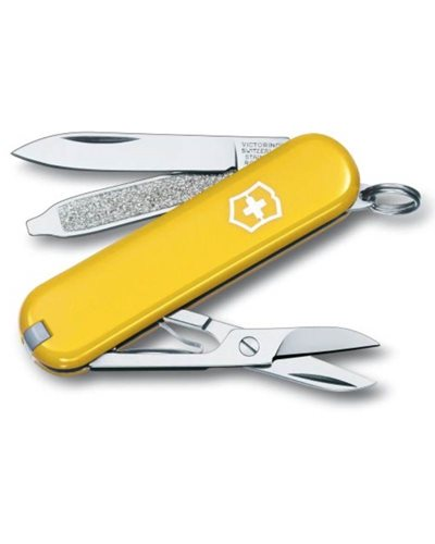 Victorinox Classic SD Small pocket knife, Yellow
