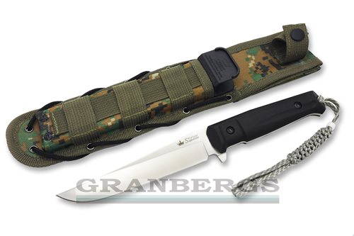 Kizlyar Supreme Croc D2 Satin Tactical Knife