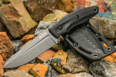 Kizlyar Supreme - City Hunter PGK TacWash Black G10