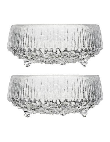 Iittala Ultima Thule Bowl 11.5cm Set Of 2 Clear