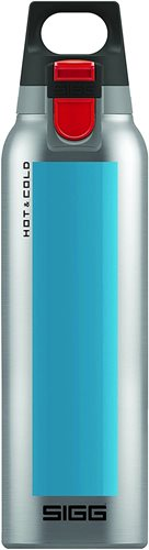 Sigg Hot and Cold One Accent Thermo Bottle, Blue, 500 ml Capacity