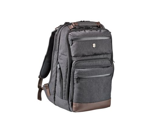 Victorinox Urban Rath Slim Backpack Gray/Brown 602837