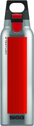 Sigg Hot and Cold One Accent Thermo Bottle, Red, 500 ml Capacity