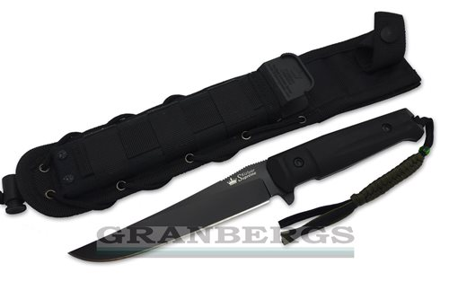 Kizlyar Supreme Croc Aus-8 Black Tactical Knife