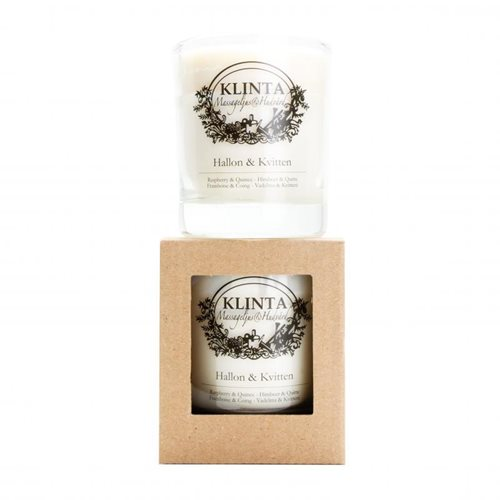 Klinta Massage Candle Large, Raspberry-Quince 20cL, 160g
