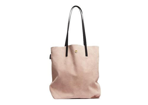 PAP Lisa Tote Bag Suede Shell 50117