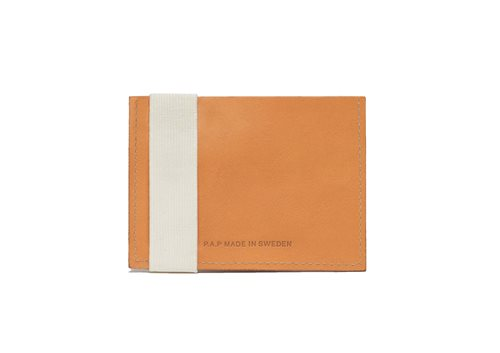 PAP Futo Card Holder Leather Wallet Honey